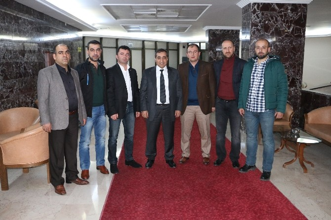 Erzincan TSO'dan TEDAŞ Genel Müdür Yardımcısı Mustafa Taşdemir'e Ziyaret