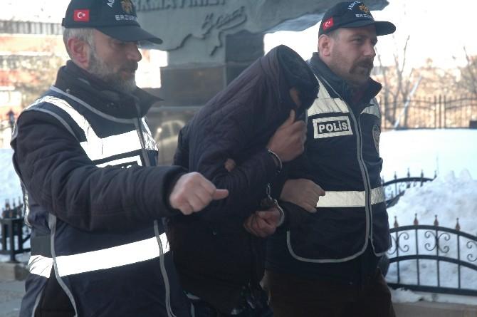 Erzurum'da Atm'yi Soyan Hırsızlık Çetesi Üyeleri, İzmir Ve İstanbul'da Yakalandı