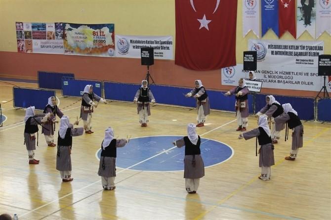 Karaman'da Halk Oyunları Yarışmaları