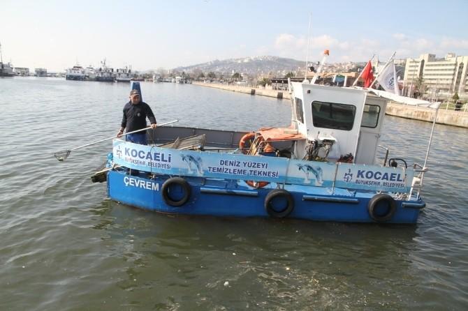 İzmit Körfezinden 146 Ton Atık Süpürüldü