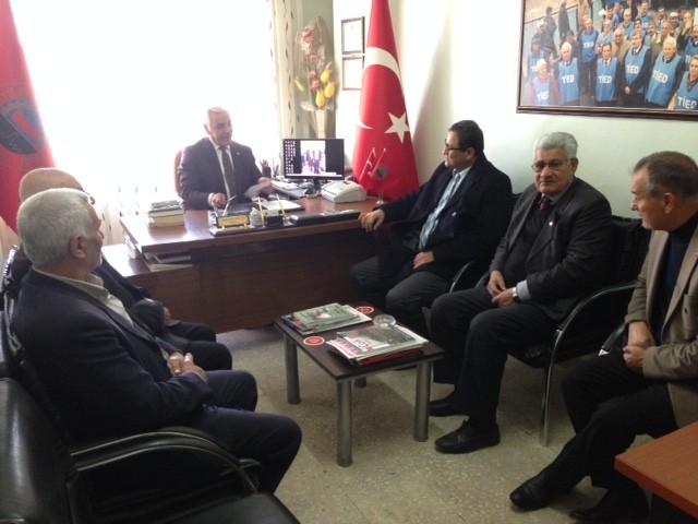 Kaymakam Sarıfakıoğluları'ndan Emekliler Derneği'ne Ziyaret