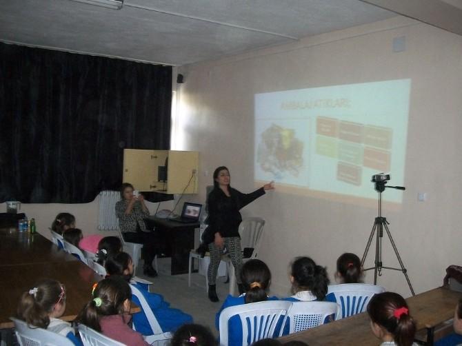 İlkokul Öğrencilerine Katı Atık Eğitim Semineri