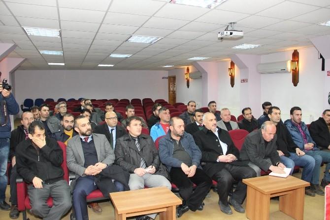 25 Martspor Kulübü İçin Toplandılar