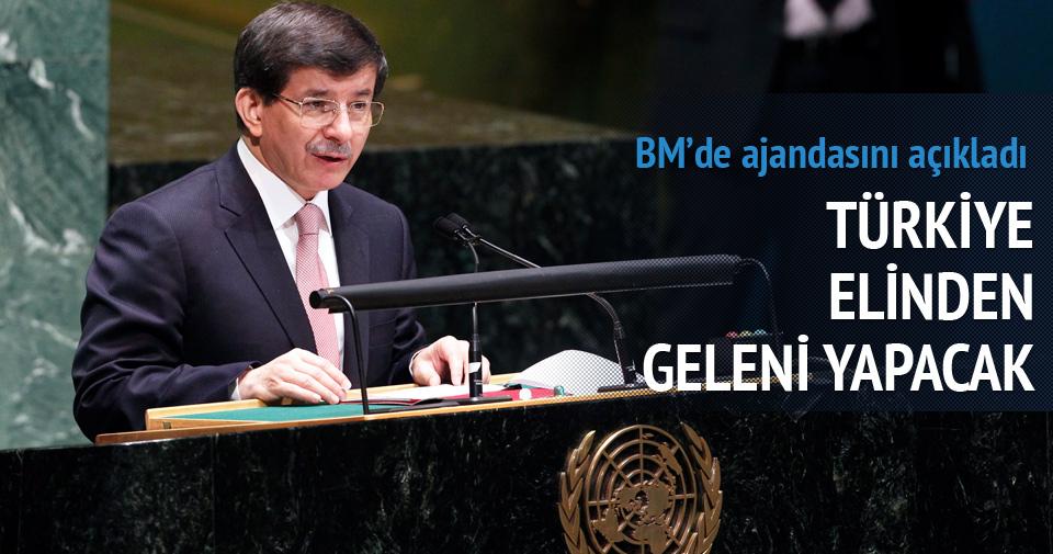 Davutoğlu: Türkiye elinden geleni yapacak