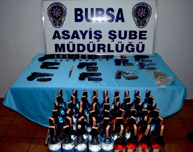 Bursa'da Huzur 16 Operasyonu