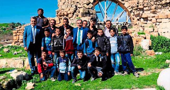 Başkan Çelikcan antik Misis'i anlattı