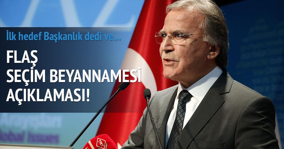 AK Parti'de ilk hedef başkanlık
