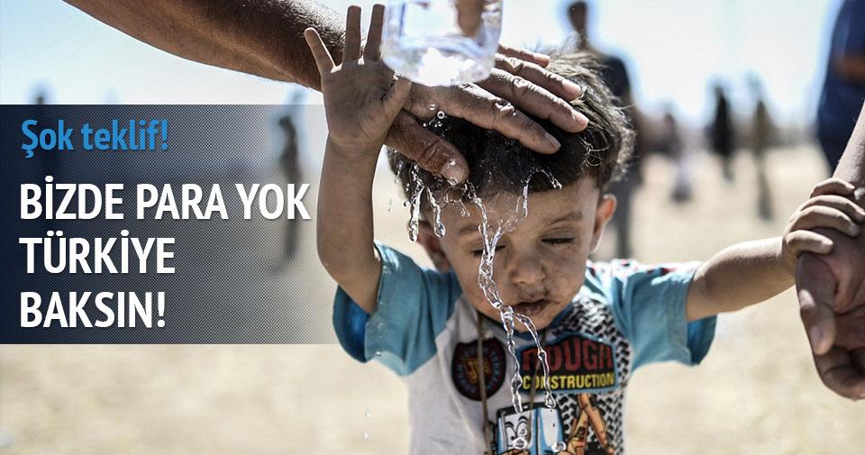 Yardımları Türkiye üstlensin