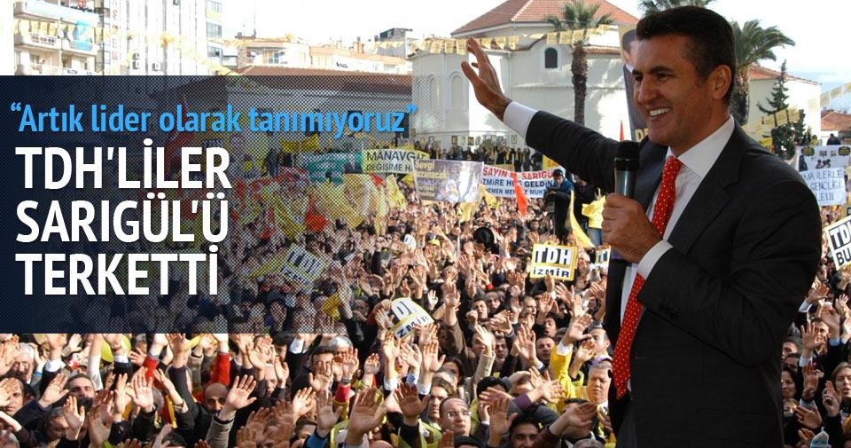 TDH'liler Mustafa Sarıgül'ü terk etti
