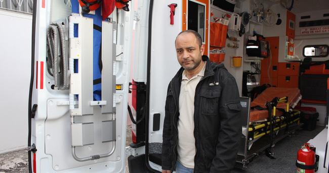 Elazığ'da ambulansa silahlı saldırı