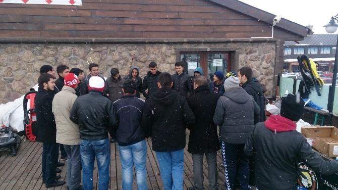 AGD'li Gençler Erciyes'te