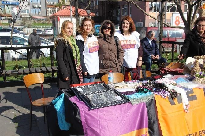 Bartın'da Dünya Kadınlar Günü Sebebiyle Kermes Düzenlendi