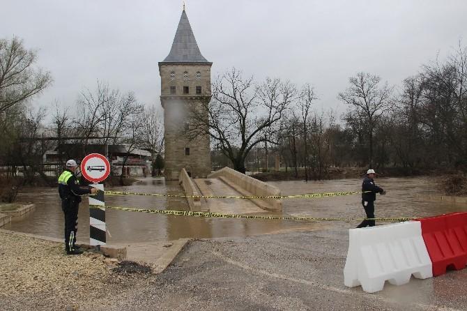 Edirne'de Nehir Debileri Yükseldi