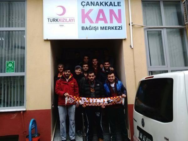 Galatasaraylı Taraftarlardan Kan Bağışı