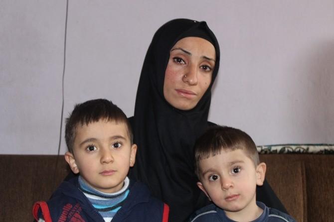 Kanser Hastası Kadın 2 Çocuğuyla Yaşam Mücadelesi Veriyor