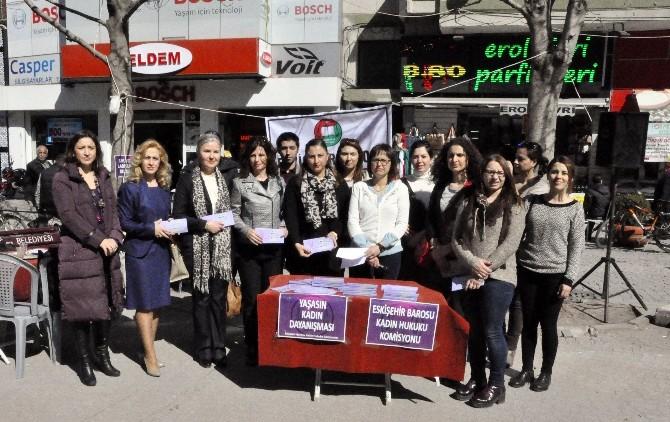 """Eskişehir Kadın Hukuku Komisyonundan """"Kadınlar Günü"""" Açıklaması"""