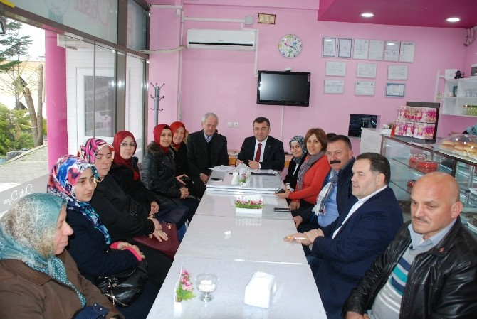 AK Parti'de Sadık Kurulu Toplantısı