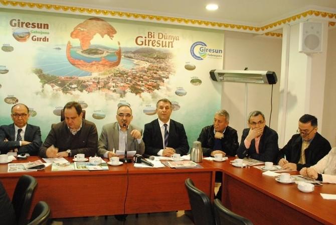 Giresun Belediye Başkanı Kerim Aksu İstanbul'daki Hemşehrileri İle Buluştu