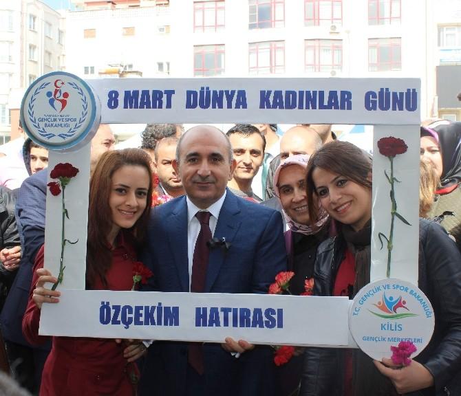 Kilis'te Dünya Kadınlar Günü Etkinliği