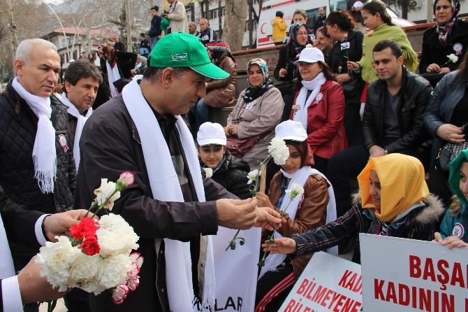 Amasyalılar Sağlıklı Ve Şiddetten Uzak Nesil İçin Yürüdü