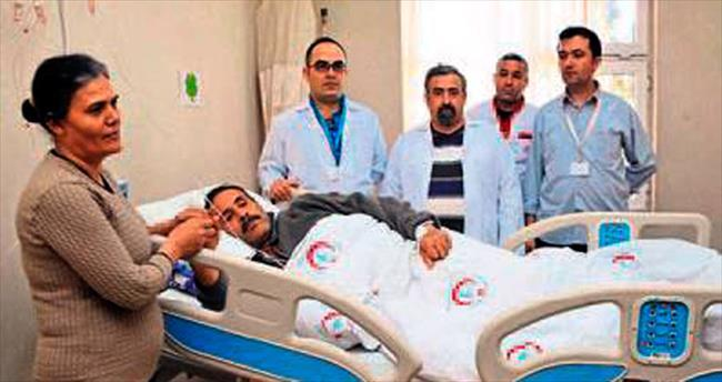 Gaziantep'te bıçaksız beyin ameliyatı yapıldı