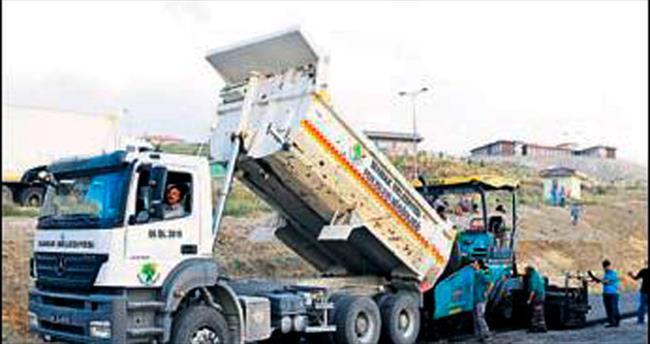 Mamak'ta asfalt çalışmaları tam hız