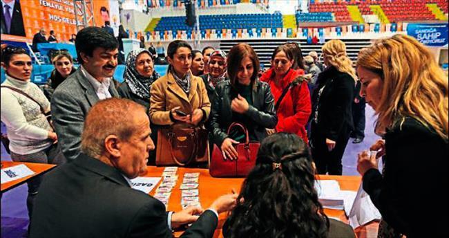 AK Parti'de vekil aday adayları Ankara yolcusu