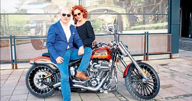 Motosikleti ona 'Can' veriyor