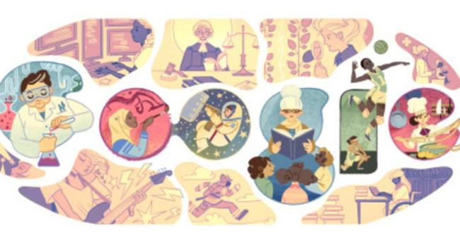 8 Mart 'Dünya Kadınlar Günü' doodle oldu! 8 Mart' 'Dünya Kadınlar Günü' nedir?