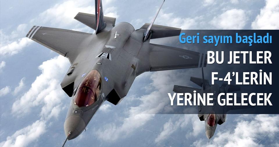 F-4 eğitim uçaklarının yerini F-35 alacak