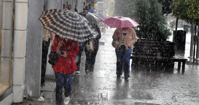 Marmara Bölgesi sağanak yağışlı olacak