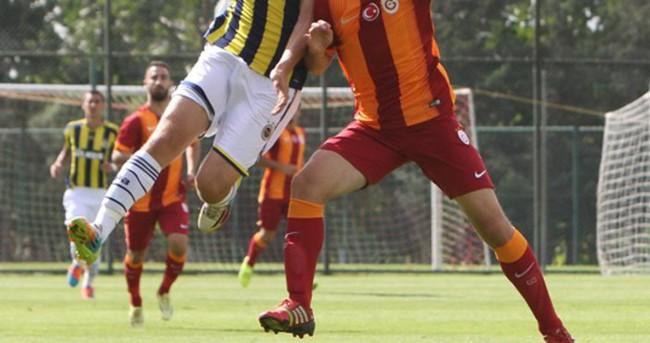 Gençler derbisini Fenerbahçe kazandı