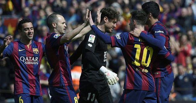 La Liga'nın yeni lideri Barcelona