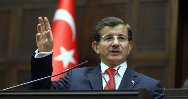 Davutoğlu, Mardin'den ayrıldı