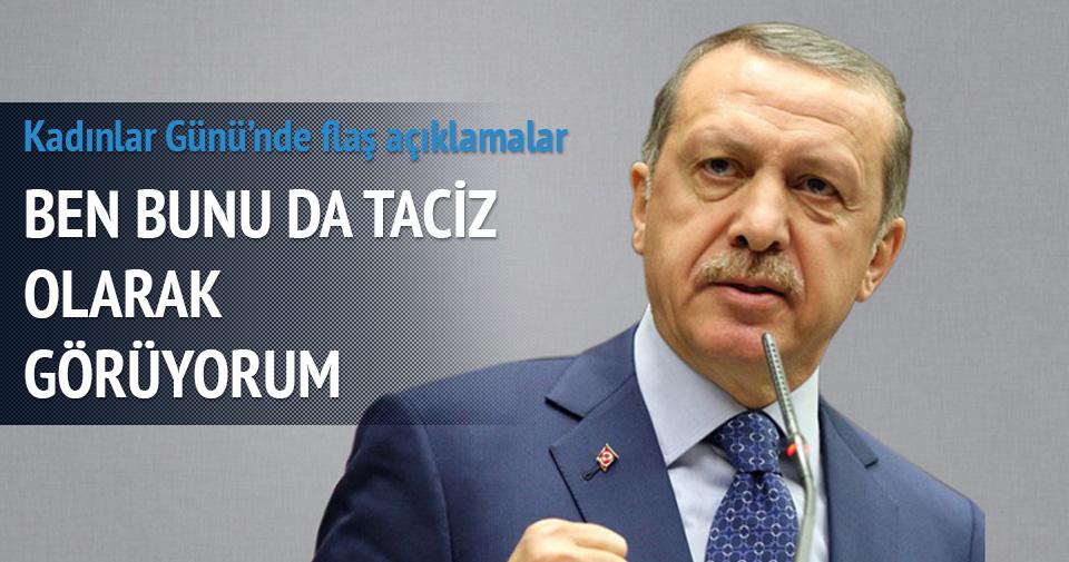 Erdoğan: Dünya kadınlar günü bir fırsattır