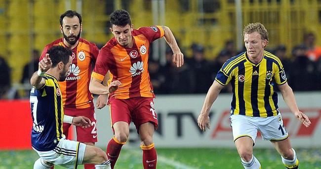Fenerbahçe Galatasaray maçı özeti ve golleri (Dev derbi Fener'in)