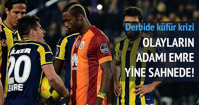 Fenerbahçe-Galatasaray derbisinde gergin anlar