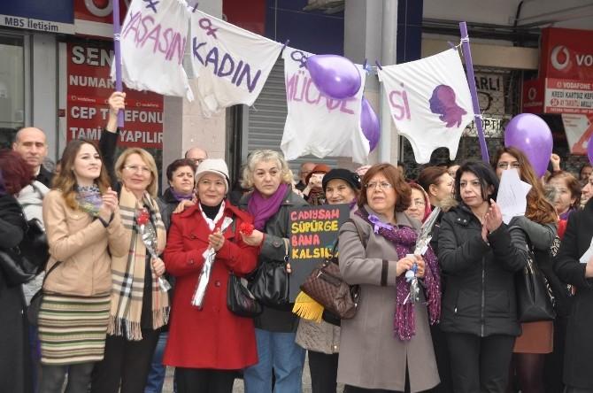 Balıkesir Kadın Platformu'ndan 8 Mart Yürüyüşü