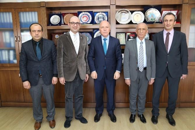 Başkan Sekmen'i 5. Uluslararası Şehircilik Ve Teknolojileri Fuarı'na Davet Ettiler