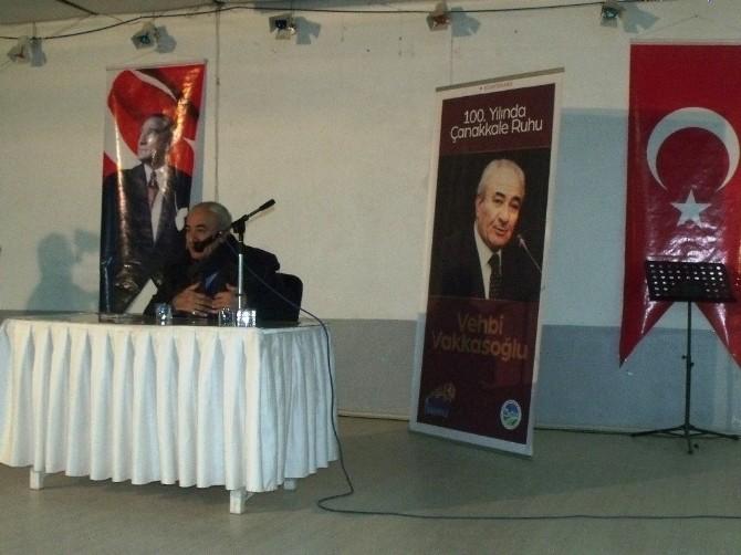 100.yılda Çanakkale Ruhu Konferansı Gerçekleşti