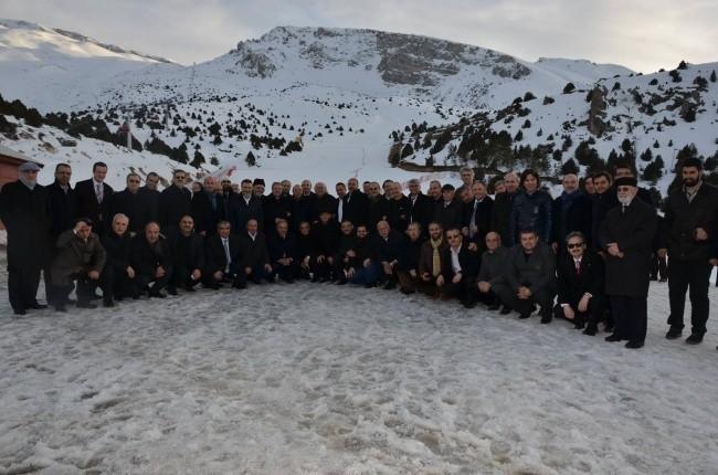 Dostlar Divanı Ergan'da İncelemelerde Bulundu