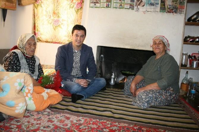 (Özel)- Asırlık Fatma Nineye Sürpriz Kadınlar Günü Ziyareti