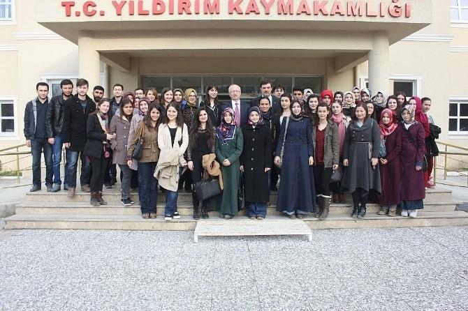 Uludağ Üniversitesi'nden Yıldırımlı Öğrencilere Eğitim Desteği