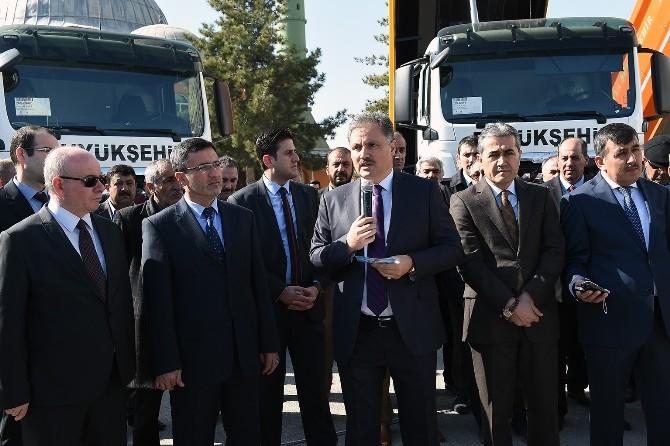 Malatya Büyükşehir Araç Filosunu Güçlendiriyor