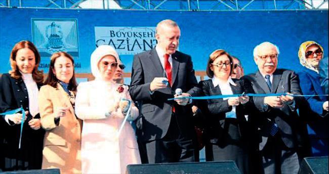 Erdoğan: Çözümün modeli Gaziantep'tir