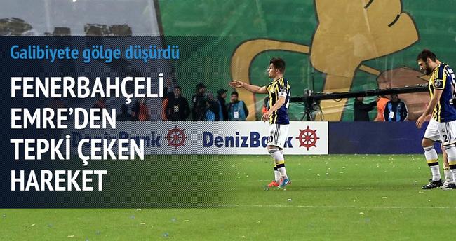 Emre'den Galatasaray'a küfürlü tezahürat