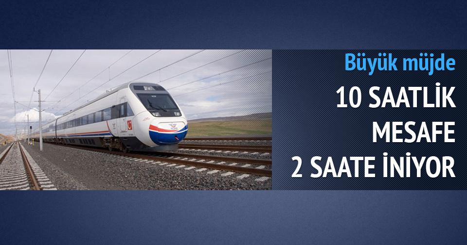 Ankara-Sivas arası 2 saate düşüyor