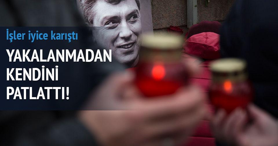 Nemtsov cinayeti şüphelilerinden biri kendini patlattı