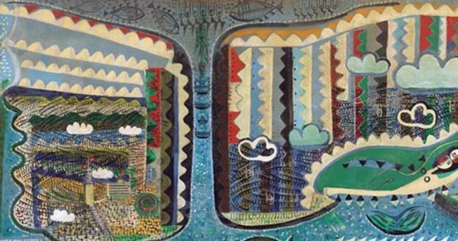 Bedri Rahmi Eyüboğlu'nun tablosuna servet