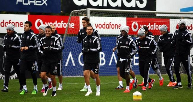 Beşiktaş, Brugge mesaisine başladı
